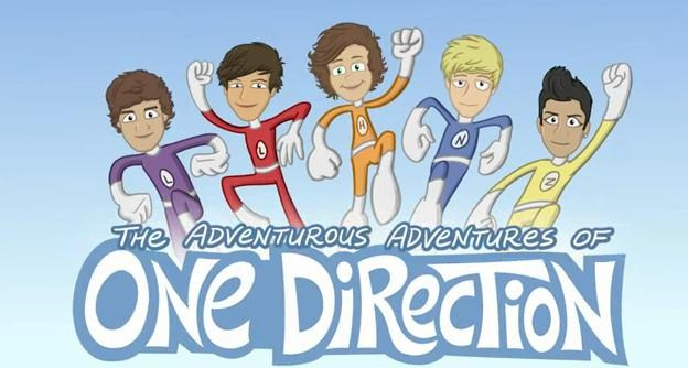 One Direction FanFic Cartoon   One Direction World