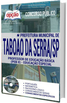 Apostila Taboão da Serra 2017 - Professor de Educação Básica II