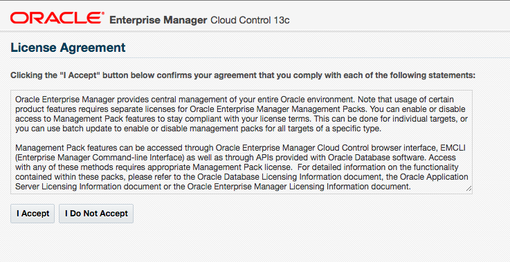 Upgrade OEM 12c to OEM 13c Cloud control ~ Dilli's Oracle/MySQL