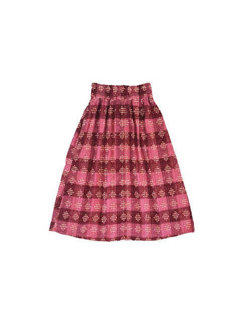 Ace & Jig Ra Ra Midi Skirt in Damask