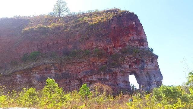 Elefante na pedra