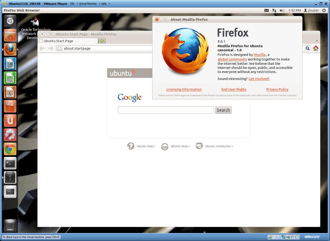 ubuntu 11.10 stock