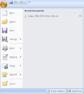 Pengertian Aplikasi Pengolah Angka Microsoft Excel