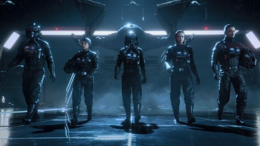 Star Wars Squadrons, Galactic Empire, Pilot, 4K, #5.2163
