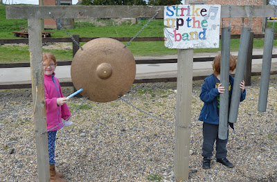 Tattershall Farm Park - A review - outdoor musical area