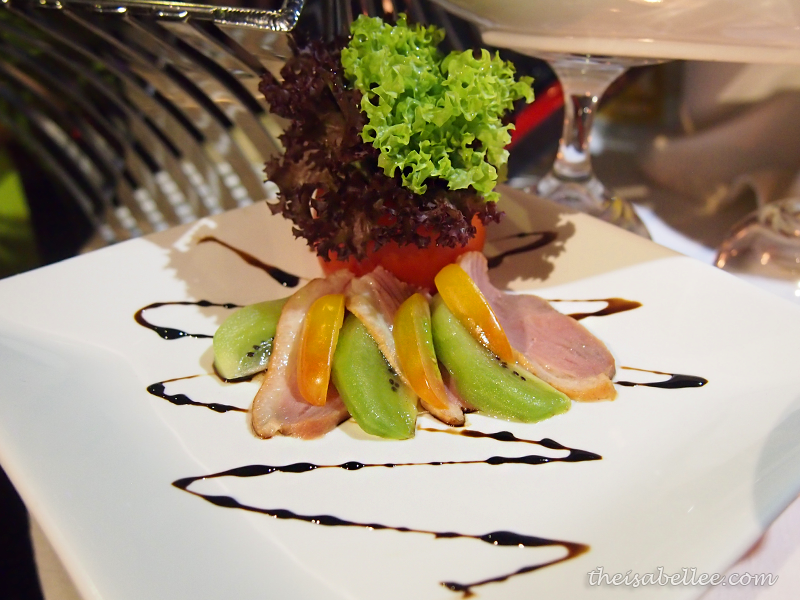 Smoked Duck Salad at TGV Indulge