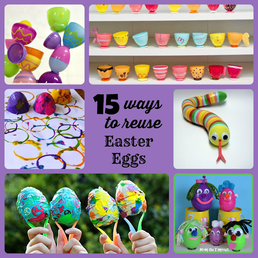 15 Ways To Reuse Plastic Easter Eggs