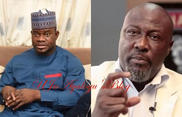 Dino Melaye VS Governor Bello: Senator calls for declaration of state of emergency in Kogi