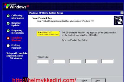 Kumpulan serial number windows xp works