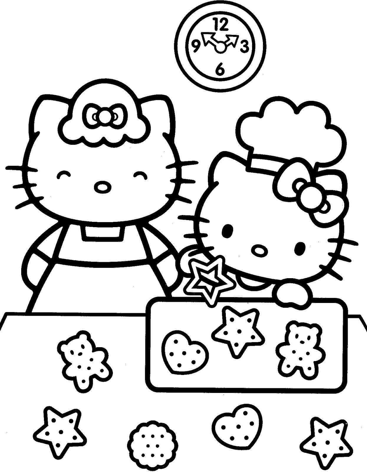 Hello Kitty Coloring Pages Games High Quality