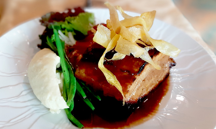 Baby Back Ribs, Polo Bistro's signature dish