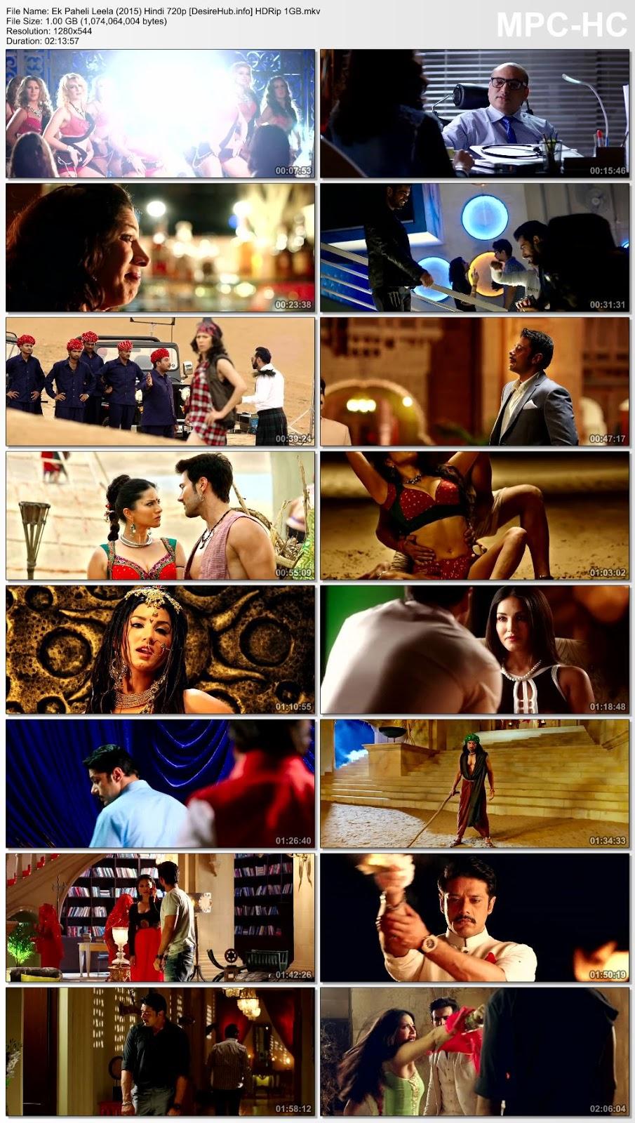 Ek Paheli Leela (2015) Full Hindi Movie 480p HDRip 350MB Desirehub