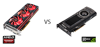 AMD Radeon vs NVIDIA Geforce