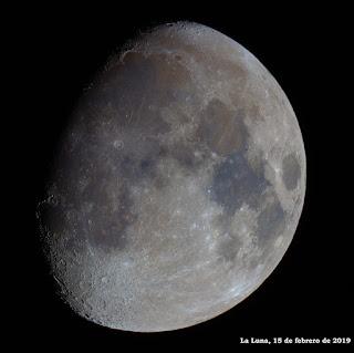 La Luna en color
