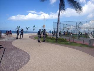 Boa noticia! Guarda Municipal já está atuando na orla do Rio Vermelho