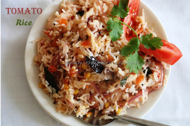 Yummy delight for u tomato rice recipe how to make tomato fried rice how to make tomato fried rice have you planned your lunch or dinner yet ccuart Choice Image