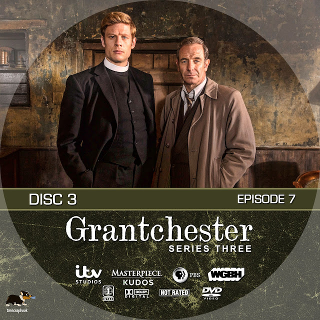 Grandchester Season 3 Disc 3 DVD Label