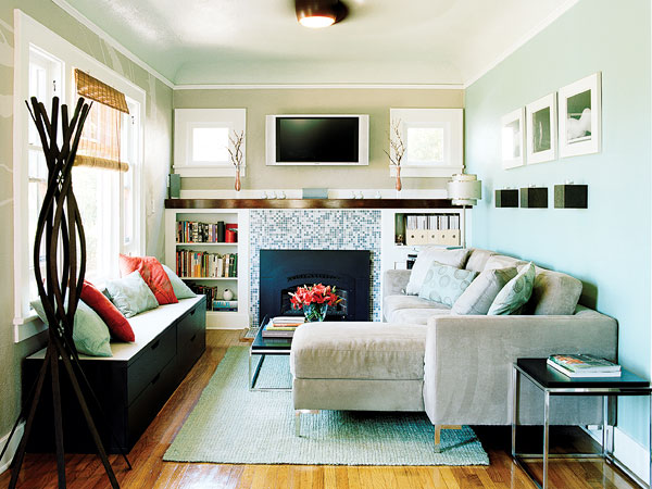 Fireplace For Small Spaces: Adore Decor: Compact Living