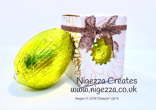 Mini Easter Egg Box 4 Springtime Foils
