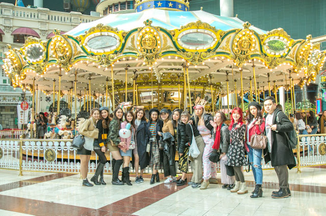 Visited Lotte World and Shopping in Myeongdong