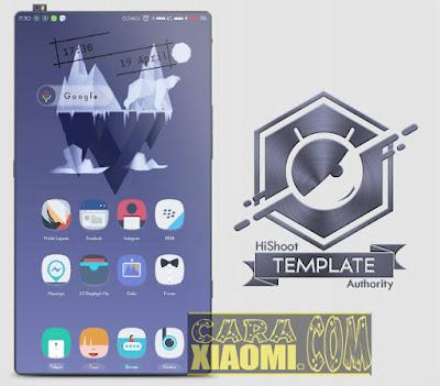 Download Tema Xiaomi Frozen Mtz For MIUI Themes (Fitur Tembus Ke Semua Aplikasi)