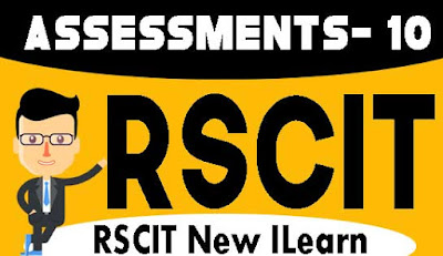 Rscit I-Learn Assessment- 10 Important Question in Hindi 2019, RKCL I-Learn Assessment - 10 in Hindi, i-Learn Important Question in Hindi, rkcl i learn assessment 10 question with answers in hindi