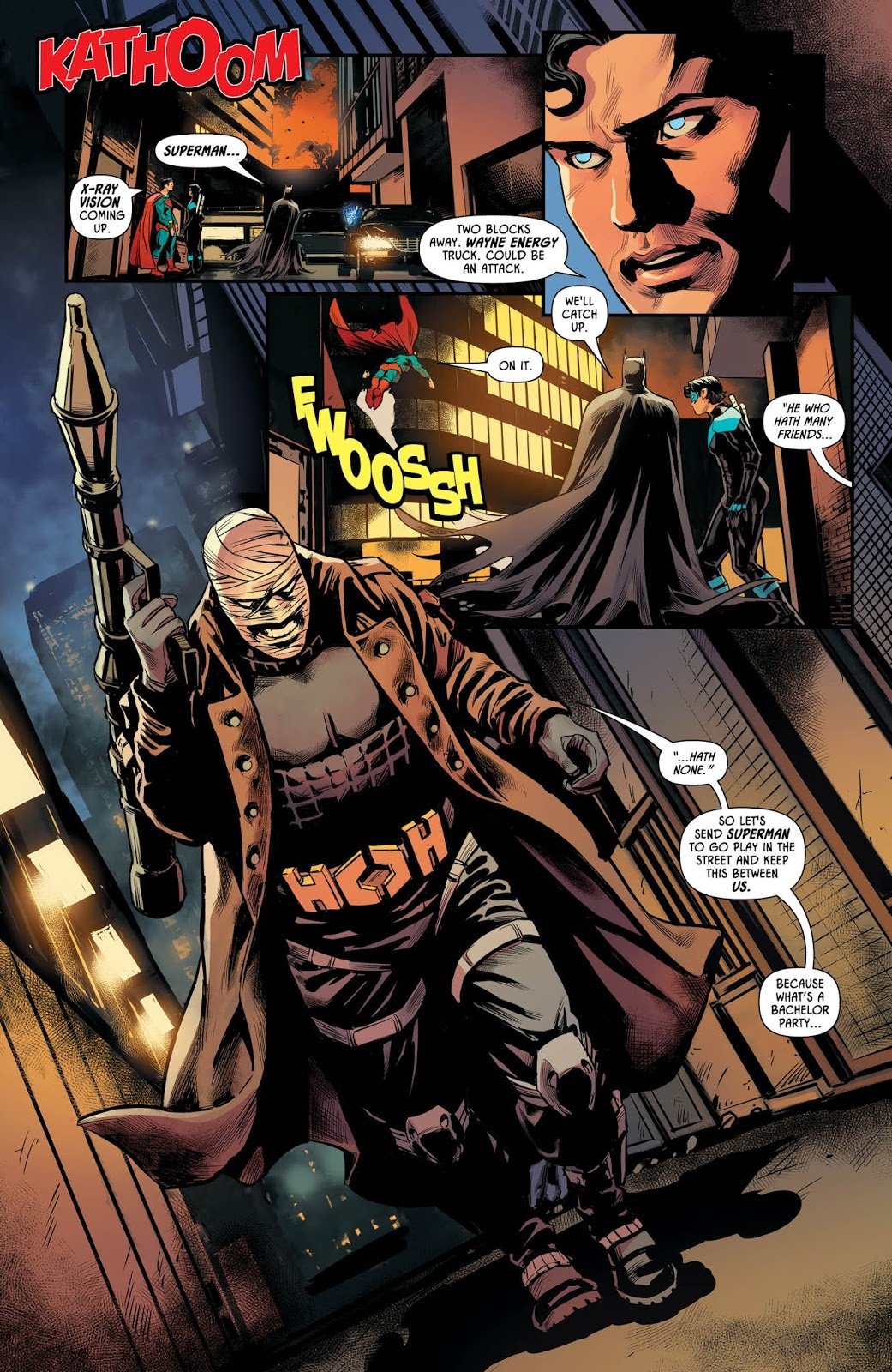 Batman Catwoman Batman Prelude to the Wedding Nightwing vs 2018 DC Hush #1