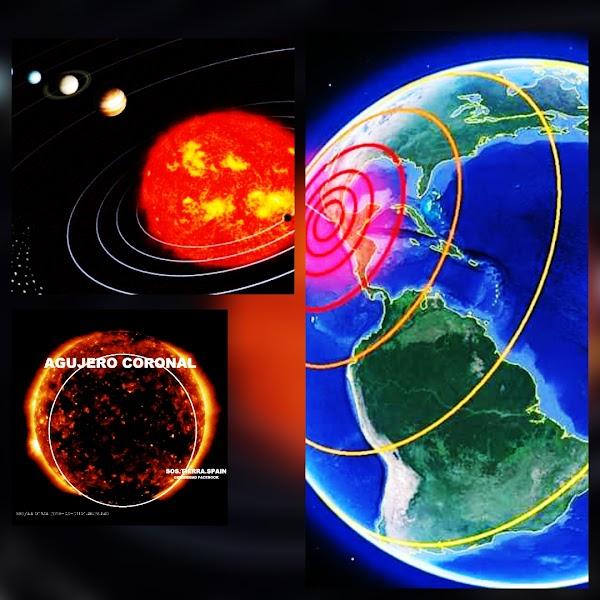 Alineacion planetaria+viento solar , puede provocar terremotos fuertes en las próximas 72 horas.