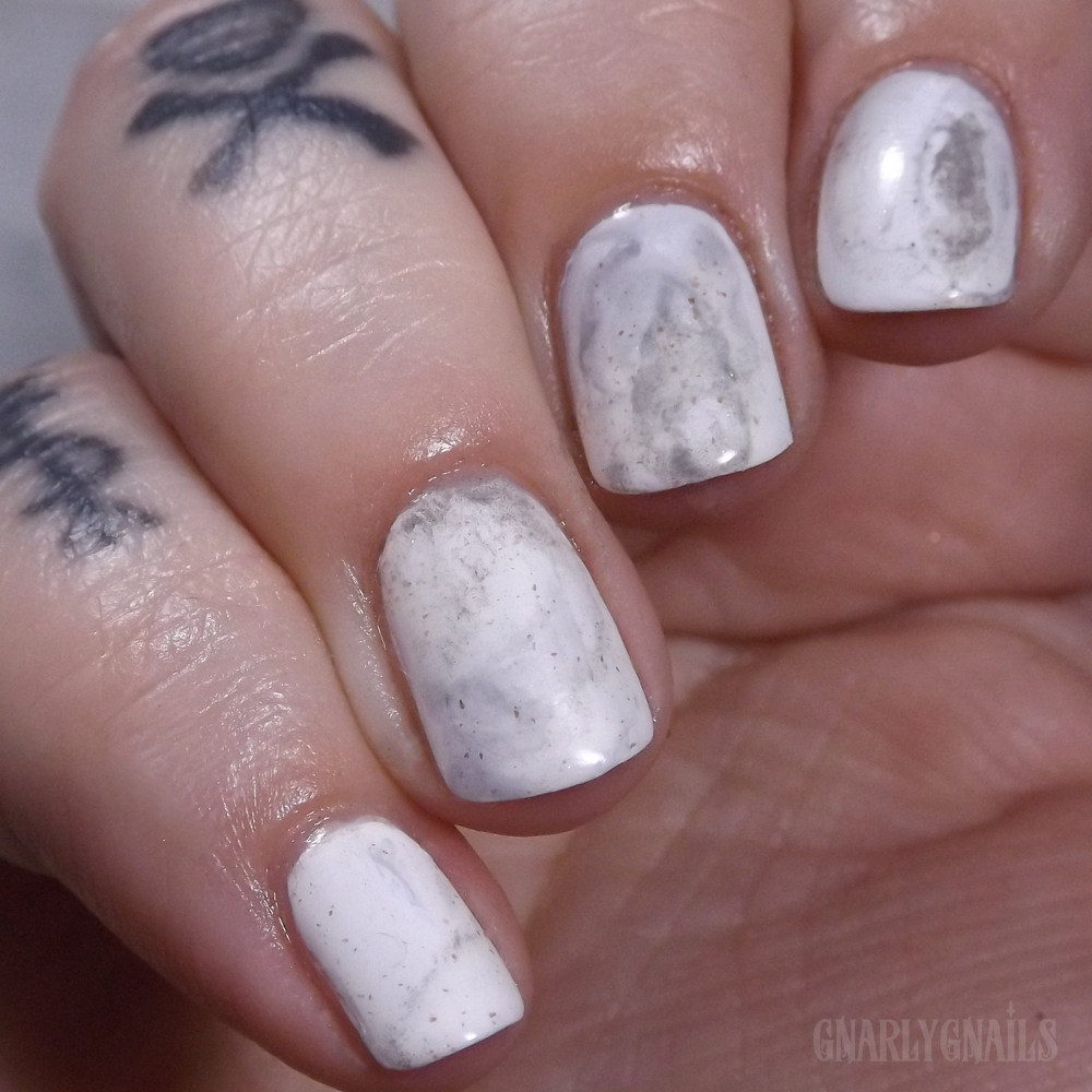 Marble Nails - Gnarly Gnails