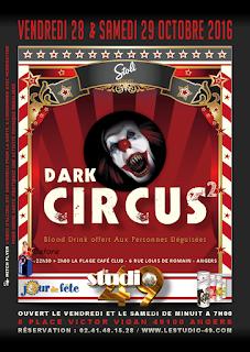 Dark Circus à Angers - 49