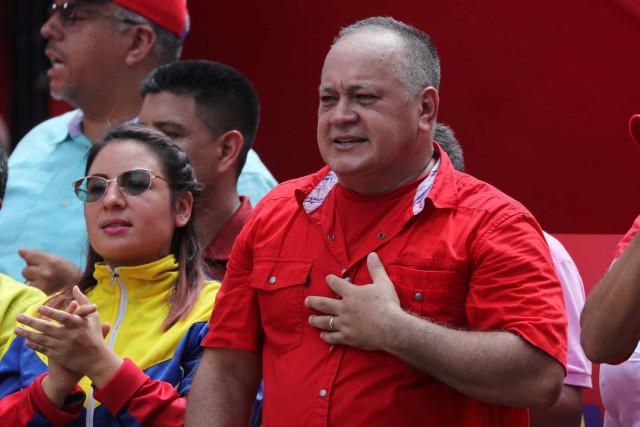"""""""No nos extraña, es capaz de negociar con el imperialismo"""", Diosdado sobre Hugo Carvajal"""