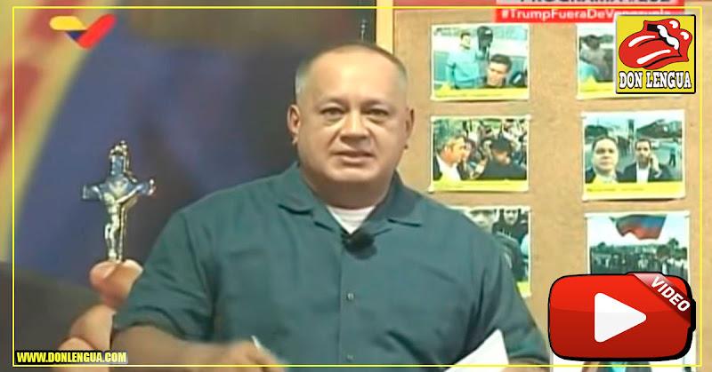 Diosdado Cabello amenaza con detener al resto de los Diputados de la AN