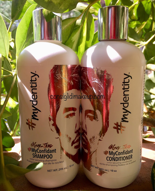#Mydentity Guy Tang, #MyConfidant Shampoo e Conditioner