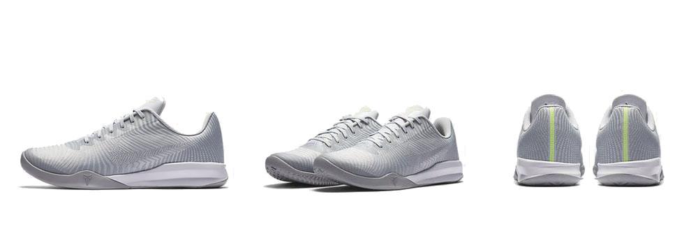 Sepatu Basket Nike Kobe Mentality 2 Wolf Grey Original