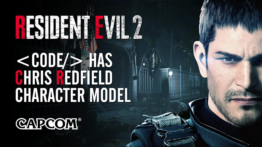 resident evil 2 remake code chris redfield character model