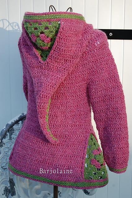 sweter dla dziewczynki tutorial