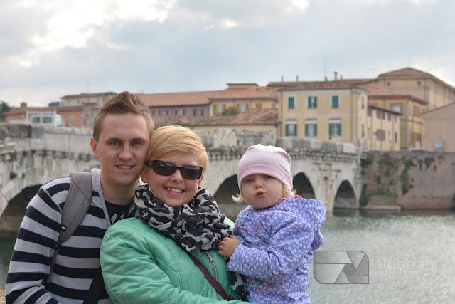 Rimini - Ponte di Tiberio, czyli Most Tyberiusza - TOP atrakcja turystyczna nad wyżrzeżem adriatyku