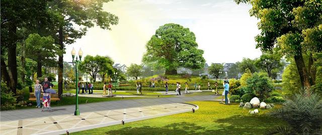 công viên liền kề the green daisy
