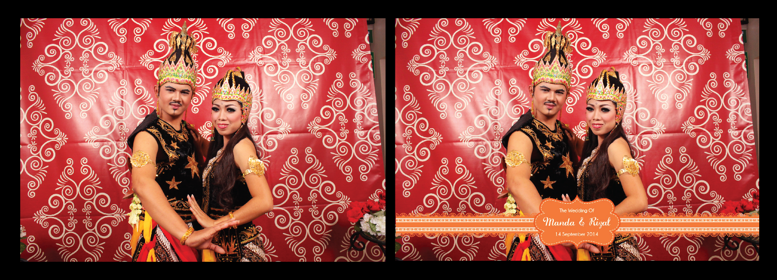 Photo Booth Bandung (Manda & Ijal Wedding)