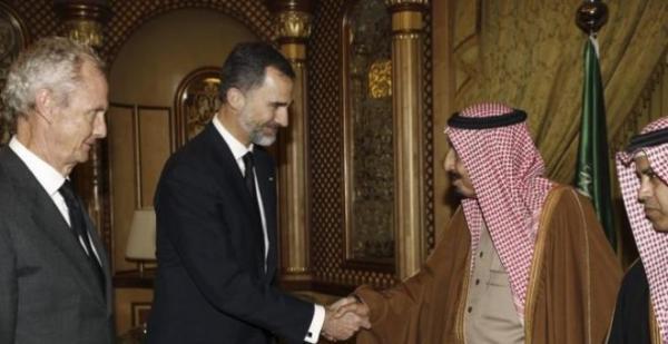 Visita de Felipe VI a Riad