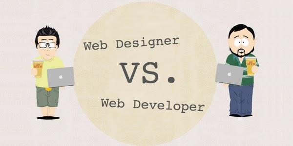 الفرق بين تصميم الويبو تطوير الويب و أيهما الأفضل