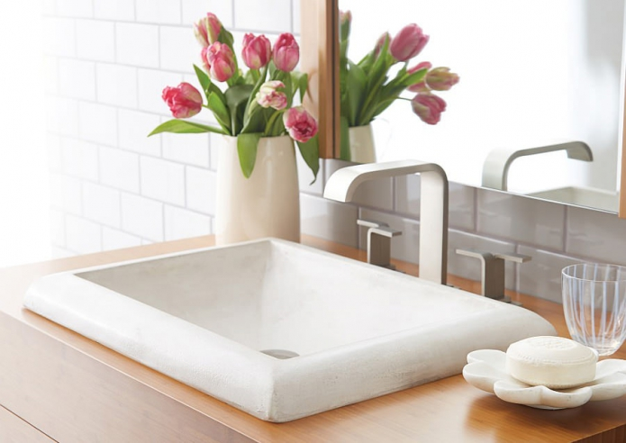 Types of bathroom sink materials choosing the best sink for Different types of bathtubs materials