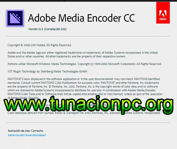 Media Encoder CC 2018 para Windows y Mac
