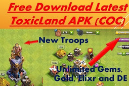 Toxic land coc Private Server Unlimited Gems