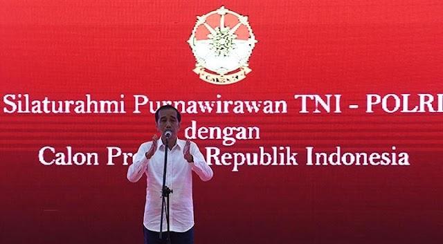 Hastag Polisi yang mendukung Jokowi Trending di Twitter