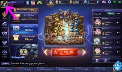 Cara Memindahkan Akun Game Mobile Legends Ke Hp Lain