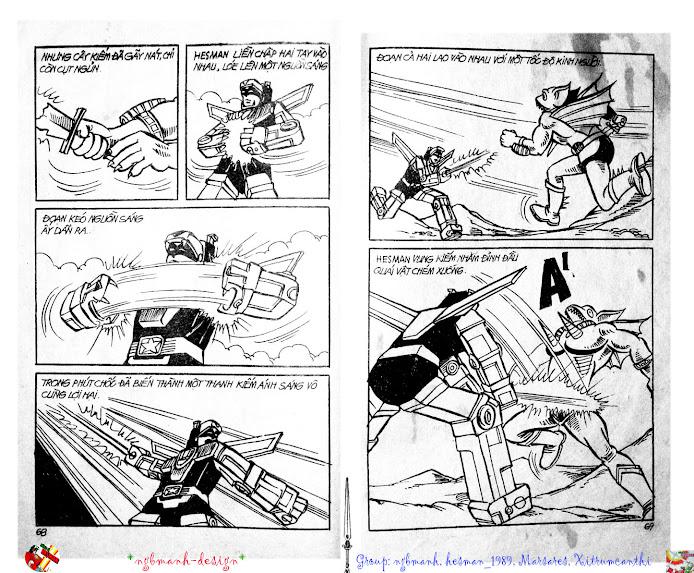 Dũng Sĩ Hesman tập 2 - hesman xuất hiện trang 36