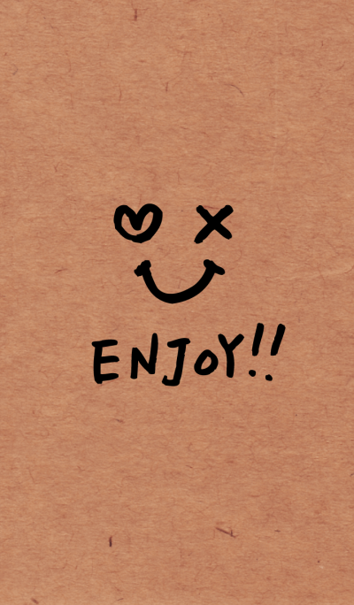 Enjoy!!-Kraft paper-joc