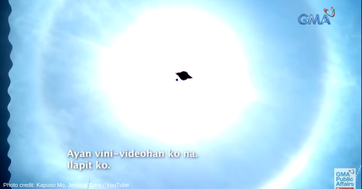 Residents in Pangasinan and Tarlac Fear Sun Halo, Possible UFO Captured on Video