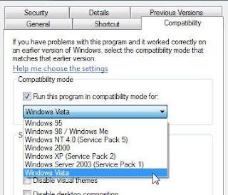 Jadikan program lama berfungsi menggunakan Compatibility Mode, pada Windows 10/8/7